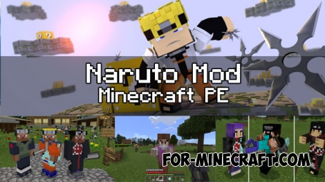 Naruto mod for Minecraft PE 1.0.0/1.0.2 (0.17.0)