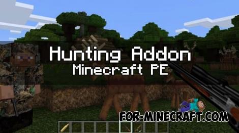 Hunting addon for MCPE 0.17.0/1.0.2