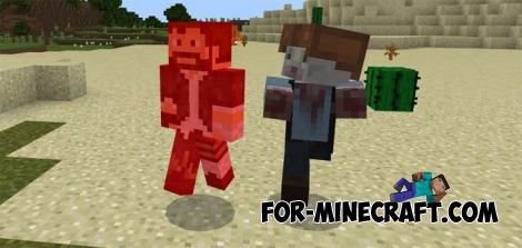 DayZ addon for Minecraft PE 1.2