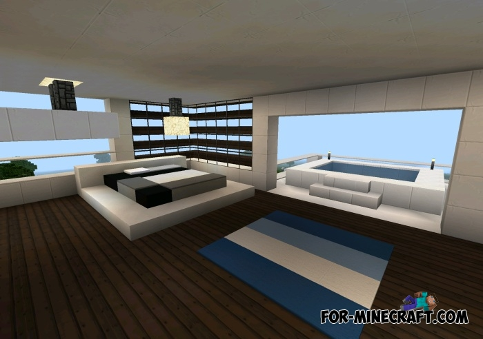 modern bedroom minecraft vacation house map for minecraft pe 0 11 x 12499