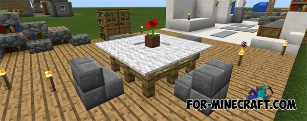 minecraft living rooms furniture ideas map for minecraft pe 0 12 1 10472